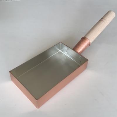 銅製玉子焼器 関西ミニ型長方形