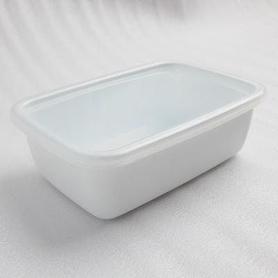 【10%OFF】琺瑯容器レクタングル深型L