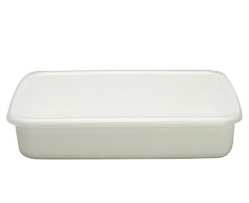 琺瑯容器レクタングル浅型L