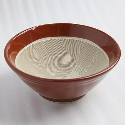 常滑のすり鉢 19cm
