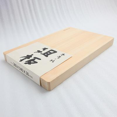 工房アイザワ厚手の木曽ひのきまな板