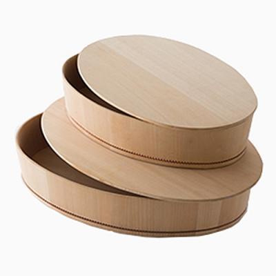 自在道具さわらの楕円飯台 小