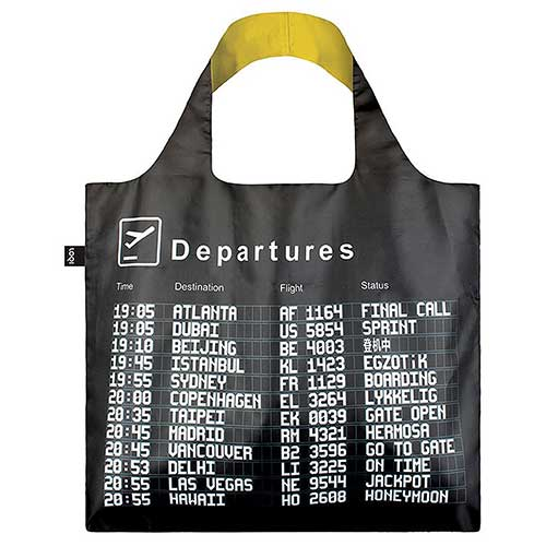 LOQI エコバック Airport Arrivals