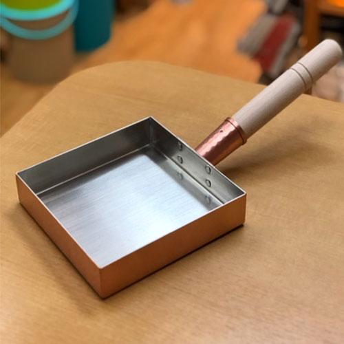 工房アイザワ  銅製玉子焼器関東型15cm