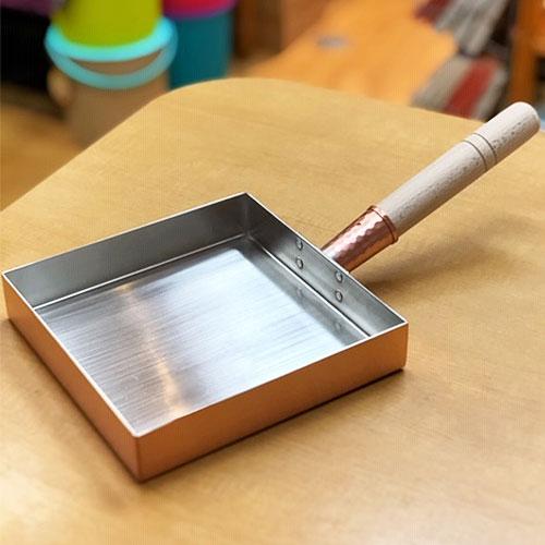 工房アイザワ 銅製玉子焼器関東型18cm