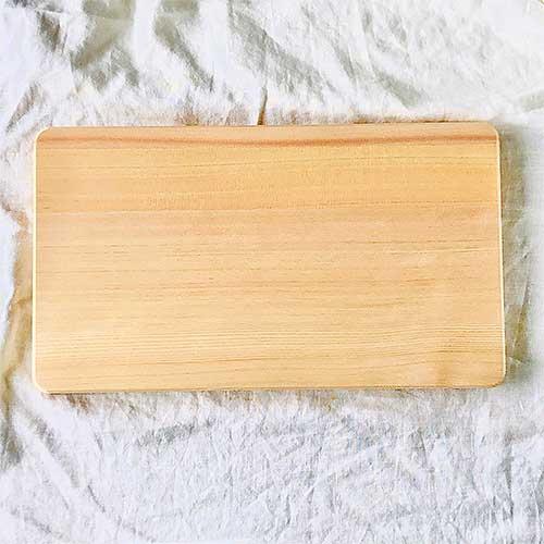 山一 木曽ひのきのまな板 42×24