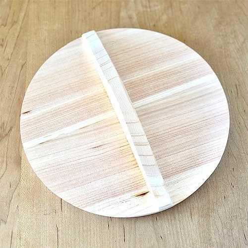 木の落とし蓋24cm