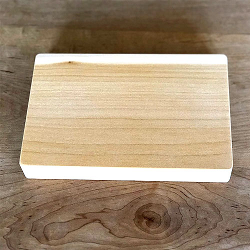 woodpecker いちょうのまな板 ミニ
